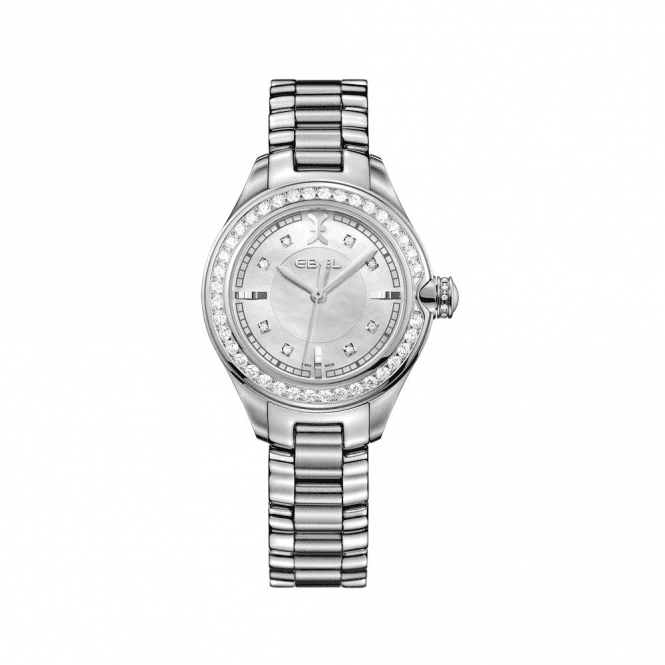 Ebel Ladies Ebel Diamond Bezel Quartz Watch
