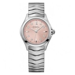 Ladies Ebel Pink Wave watch