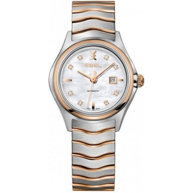 Ebel Ladies Ebel two-tone rose gold automatic watch