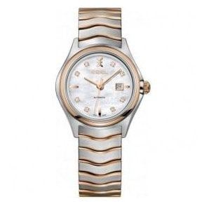 Ladies Ebel two-tone rose gold automatic watch