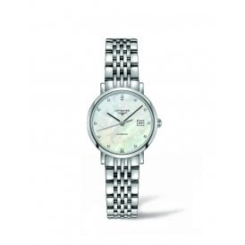 4a140e89b White Mother of Pearl Longines