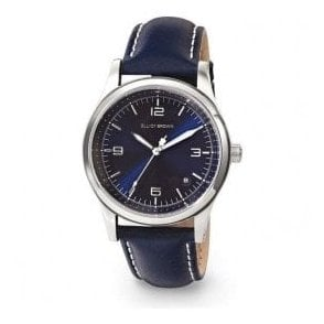 Ladies Elliot Brown Kimmeridge Blue Sunray Dial Watch