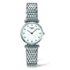 Ladies Longines La Grande Classique MOP Diamond Dot Dial Watch