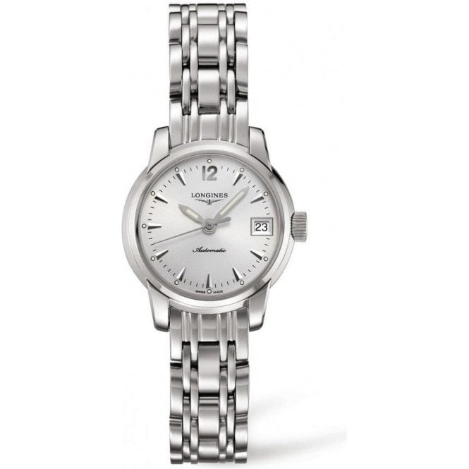 Longines Ladies Longines Saint-Imier Automatic Silver Dial Bracelet Watch