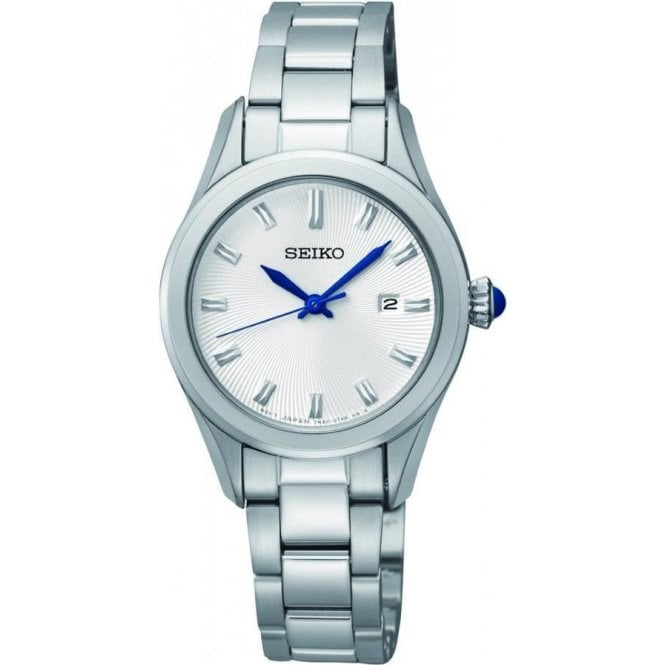 Seiko Ladies Seiko Silver Dial Bracelet Watch