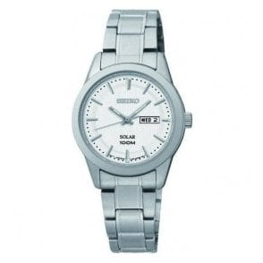 Ladies Seiko Solar Day-Date Bracelet Watch