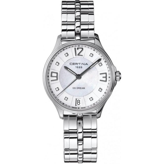 Certina Lady's stainless steel DS Dream watch