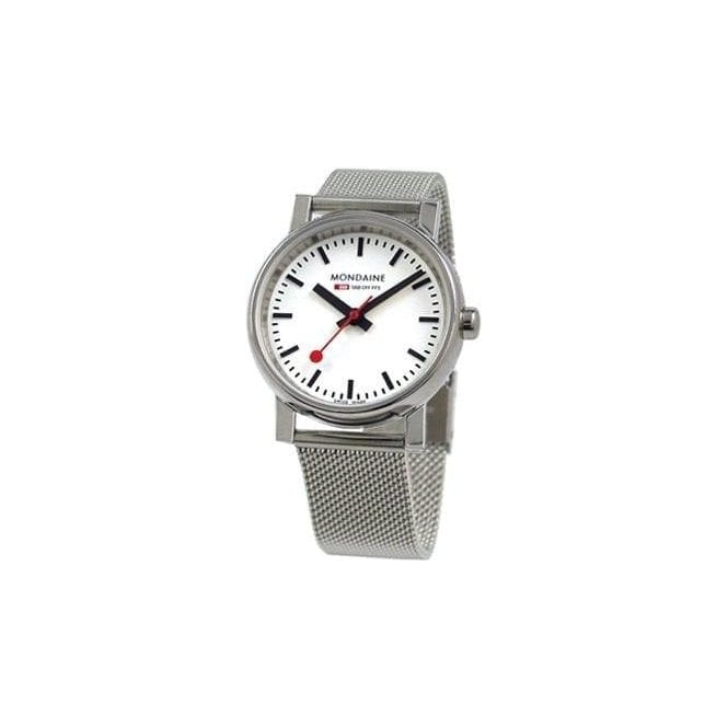 Mondaine Lady's Evo-lution Swiss quartz watch onmesh bracelet