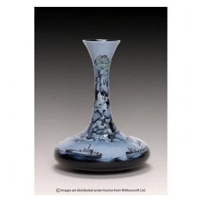 Numbered Edition River Traffic Vase
