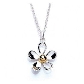 Open Daisy Pendant 15mm