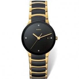 Gentleman's Centrix steel and High-Tech Ceramic bracelet watch