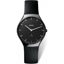 Gentleman's High-Tech Ceramic True Thinline strap watch