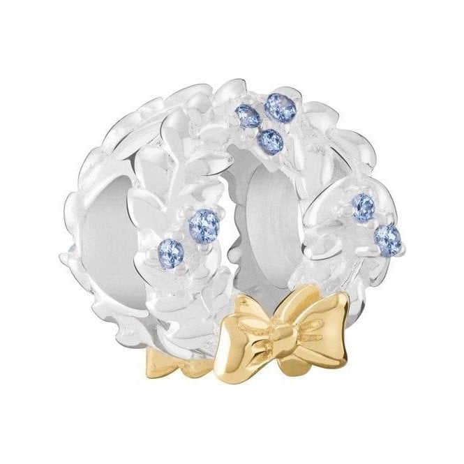 Chamilia Silver bead - Frosty Wreath