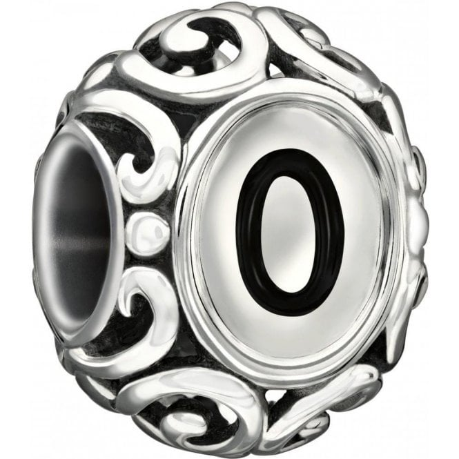 Chamilia Silver bead - Initially speaking - Letter O