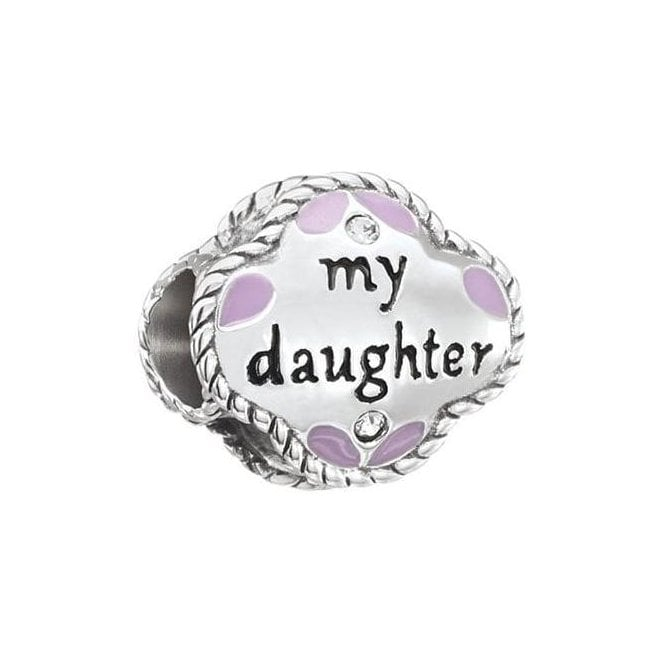 Chamilia Silver bead - My Daughter, My Friend
