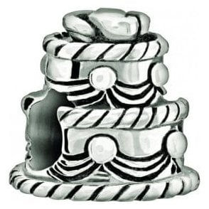 Silver bead - Wedding Cake
