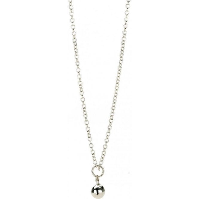 Chamilia Silver Charm Necklace - Drop Chain 36inch