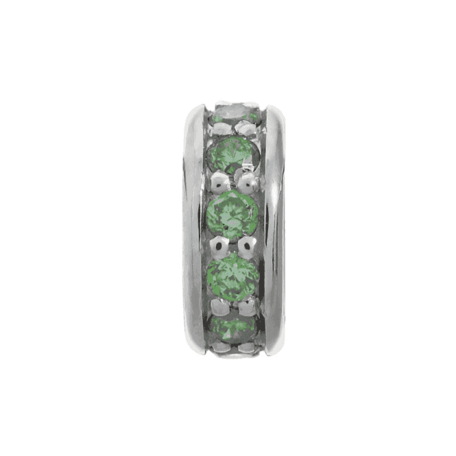 Endless Jewelry Silver Emerald Dreamy Dot Charm