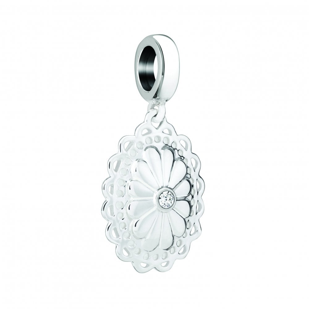916d5f518319d Silver hanging charm - Mum to be