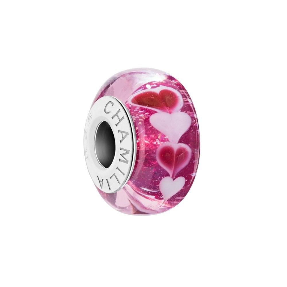 8246f70ff39d2 Chamilia Silver Murano bead - Sweet Hearts