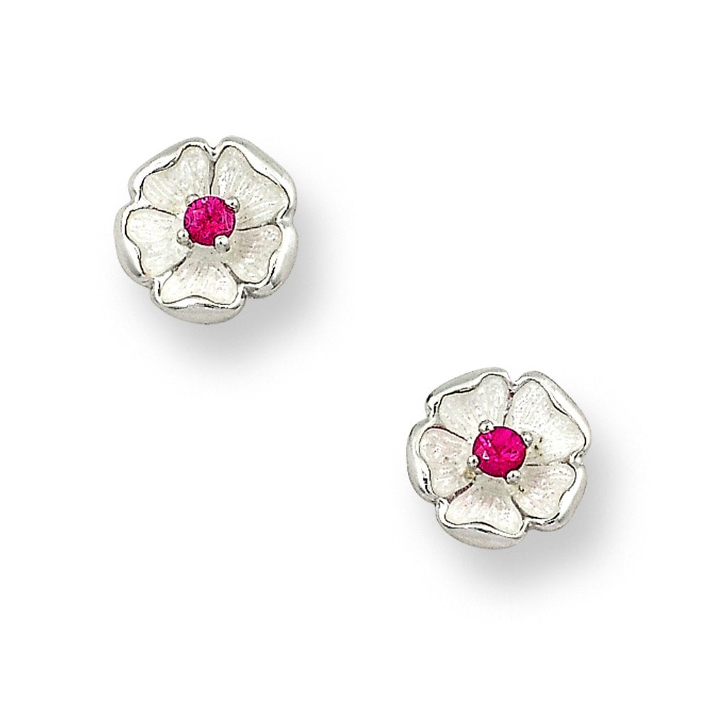 17eadc870 Ruby Silver Earrings Uk - Best All Earring Photos Kamilmaciol.Com