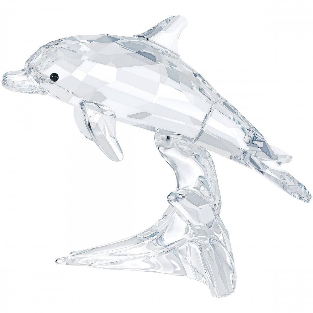 Arthur Conan Doyle censura Insatisfactorio  Swarovski Swarovski Crystal Dolphin Baby - Gifts from Dipples UK