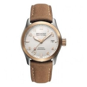Unisex SOLO-37 18ct Rose Gold Bezel Brown Strap Automatic Watch
